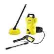 Karcher K2 Compact Refurbished Pressure Washer with T150 Patio Cleaner, Lance and Dirtblaster