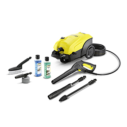 K4 Compact Car & Driveway Refurbished Pressure Washer Bundle