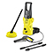 Karcher K2 Refurbished Pressure Washer with T150 Patio Cleaner & Dirtblaster