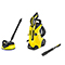 Karcher K4 Full Control Home Refurbished Pressure Washer Bundle