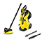 Karcher K4 Premium Full Control Home Refurbished Pressure Washer Bundle